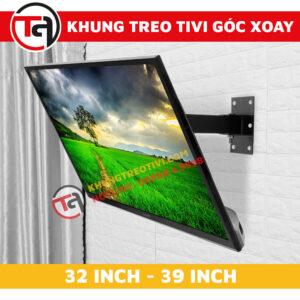 Khung Treo Tivi Góc Xoay Tâm Việt Từ 32 Inch Đến 39 Inch X32-4