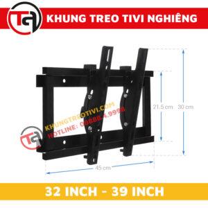 Khung Treo Tivi Nghiêng Tâm Việt Từ 32 Inch Đến 39 Inch N32 -1
