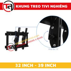 Khung Treo Tivi Nghiêng Tâm Việt Từ 32 Inch Đến 39 Inch N32 -2