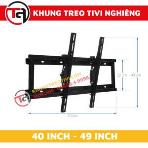 Khung Treo Tivi Nghiêng Tâm Việt Từ 40 Inch Đến 49 Inch N42 -1