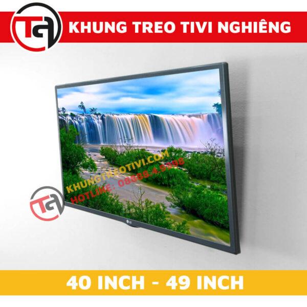 Khung Treo Tivi Nghiêng Tâm Việt Từ 40 Inch Đến 49 Inch N42 -3