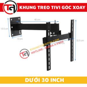 Khung Treo Tivi Góc Xoay Tâm Việt Dưới 30 Inch X26-1