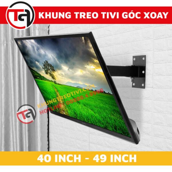 Khung Treo Tivi Góc Xoay Tâm Việt Từ 40 Inch Đến 49 Inch X42-4