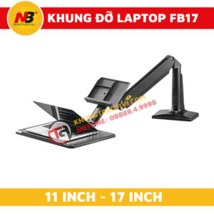 Khung Đỡ Laptop Nhập Khẩu NB-FB17-2