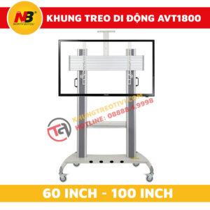 Khung Treo Tivi Nhập Khẩu Di Động NB-AVT1800-100-1P-2