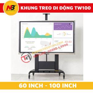 Khung Treo Tivi Nhập Khẩu Nâng Hạ Tự Động NB-TW100-1