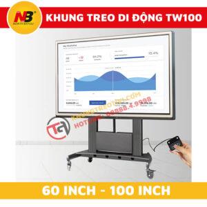 Khung Treo Tivi Nhập Khẩu Nâng Hạ Tự Động NB-TW100-2