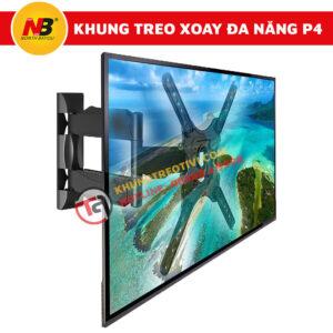 Khung Treo Tivi Nhập Khẩu Xoay Đa Năng NB-P4-3