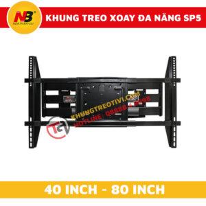 Khung Treo Tivi Nhập Khẩu Xoay Đa Năng NB-SP5-2