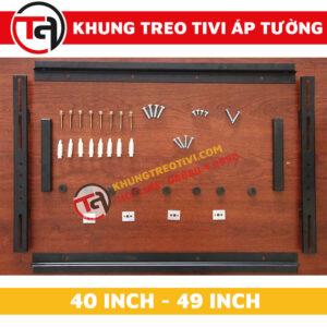 Khung Treo Tivi Áp Tường Tâm Việt Từ 40 Inch Đến 49 Inch K42-2